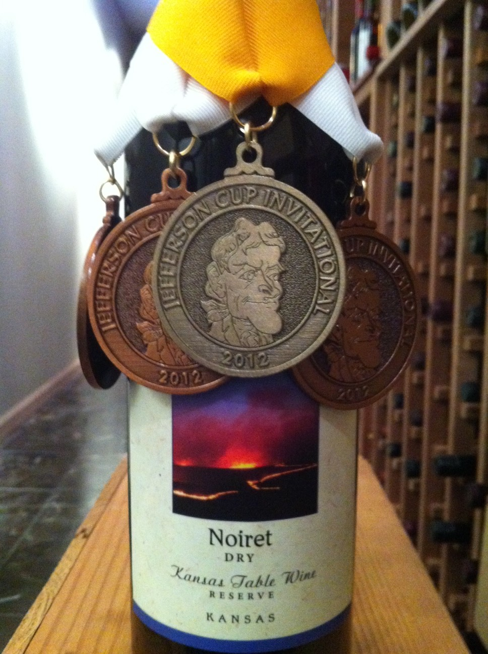 Jefferson Cup Prairie Fire Winery Kansas Medals