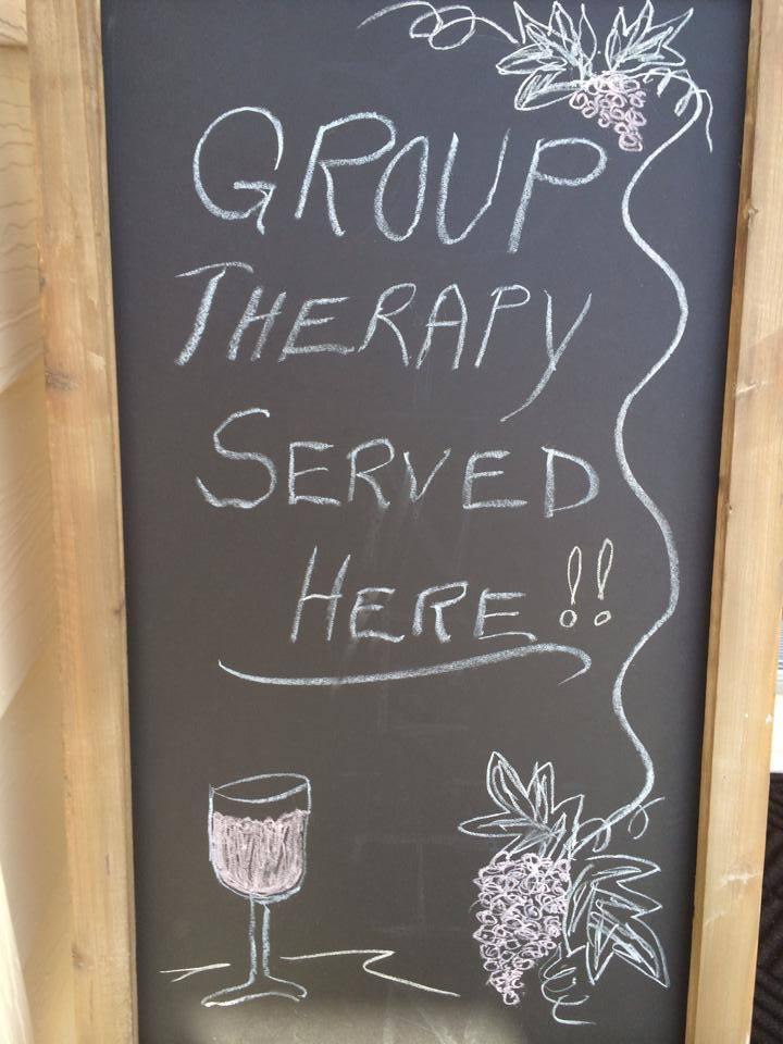 Kansas Wine (Grape) Group Therapy