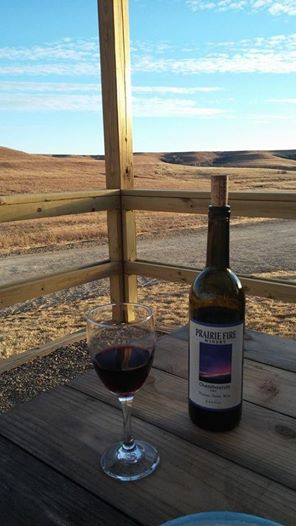 Kansas chambourcin prairie fire wine