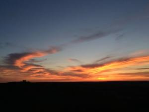 Flint Hills Sunset