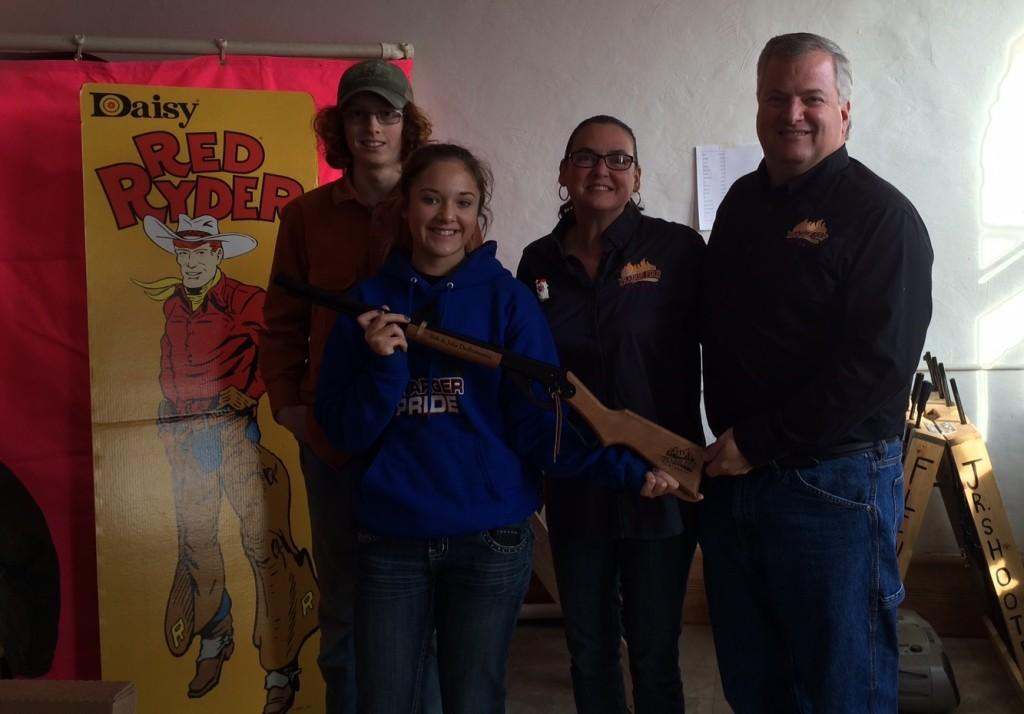Flint Hills Junior Shooters Presentation to Prairie Fire